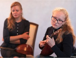 As a part of a festival  «Stars on Baikal» master classes were held for students of music schools in Irkutsk