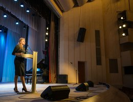 A conference and a master-class in Omsk